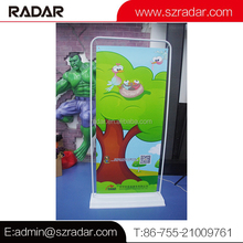 Retail store/hotel/shopping mall free-stand advertising banner advertising poster holder low price