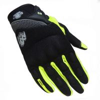 Hot sales motorcycle gloves carbon fiber fox gloves metal finger glove