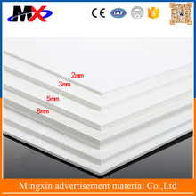 Commercial decorative white advertising foam board use in building furniture made in china