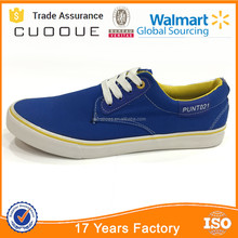 High Quality Ruian vulcanized casual canvas shoes factory