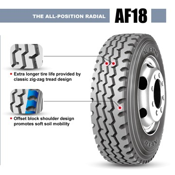 High Performance heavy radial truck tires, prompt delivery with warranty promise