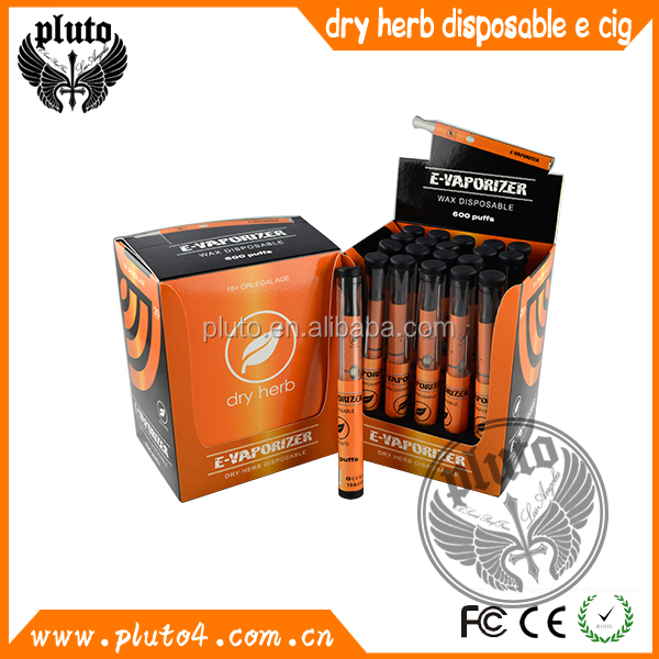 2015 Alibaba Best Seller Great Flavors 600puffs disposable e cig e hookah dry herb pens