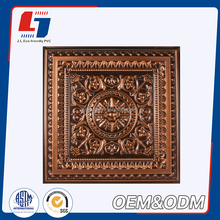 60x60cm Plaster Foil Back PVC Laminated Gypsum Ceiling Tiles