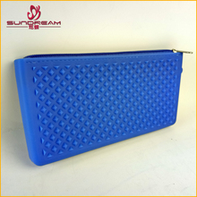 2017 New Fashion factory custom Girl Silicone Change Women Key Wallet Coin Purses card holder Purse Lady Wallet Purse Clutch