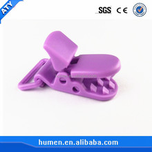 Customize colored suspender plastic lock clips