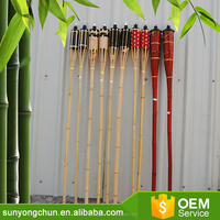 Eco Friendly Bamboo Crafts Torch Decorative