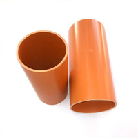 Underground Pipe Electrical PVC Conduit Pipe 400mm