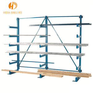 Cold-rolled steel warehouse collapsible storage slotted angle rack