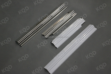 4 Doors sill scuff step plate stainless for all new Fortuner auto accessories of TOYOTA fortuner 2012+ Door sill set