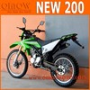 New Condition Manual Transmission Type 200cc Dirt Bike Motorcycle