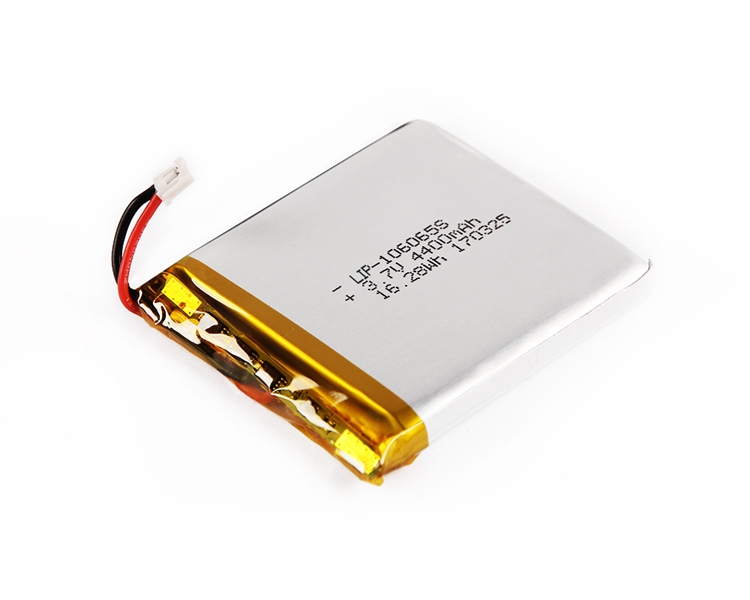 3.7V 4400mah polymer lithium ion lipoly flat cell battery