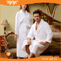 Kimono Collar Style Cotton Couples bathrobe