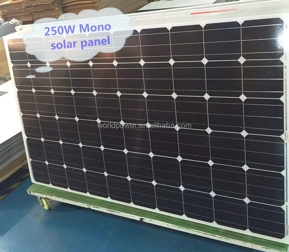 2017 NEW Poly/Mono Solar Panel 200W 250W 300W Solar PV Module Factory Price