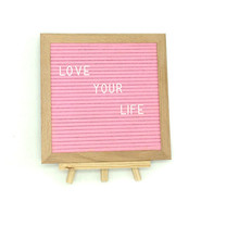 Hot-Sale Stable Wooden Changeable felt letter board quotes Home Decoration