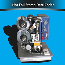 241B Charactor Hot Foil Stamp Date Coder for milk bag