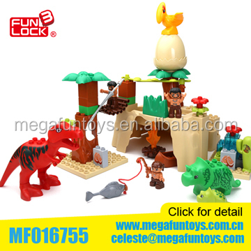 Hot New Product For Kids ABS Material 51PCS Police Set Duplo Blocks