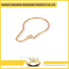 Bronze L71mm ID33mm 2.1 unique shower curtain track hooks without rollers