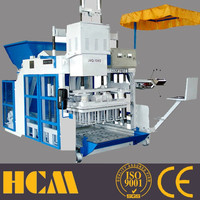 QMY10-15 Zenith type egg mobile block egg laying block machine in Saudi Arabia