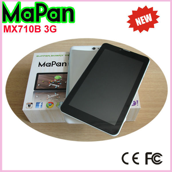 android 4.4 os 3g tablet mobile phone dual core tablet pc with user manual
