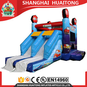 racing car inflatable bouncer slide happy hop bouncer adult baby bouncer for sale