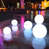 led lamp E27 Plastic garden Led Ball With APP system Remote Control color changing Christmas ornament flash led light