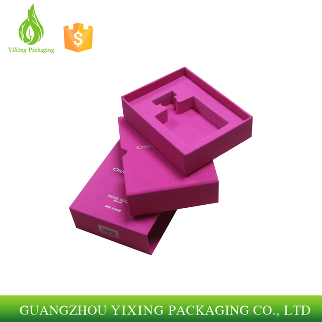 Scent Bottle Handmade Paper Cardboard Perfume Packaging Box/Cosmetic Box Gift Perfume Box