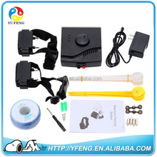outdoor dog fence pet training product wireless outdoor electric dog training fence portable fences for dogs