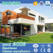 Modern design Australia standard prefab guest house prefabricated with big windows from China