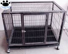 Wholesale car crates luxury boarding kennels dog cage.