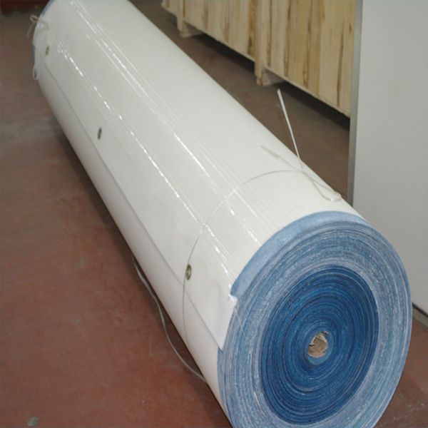 Double layer polyester dryer paper making mesh fabric