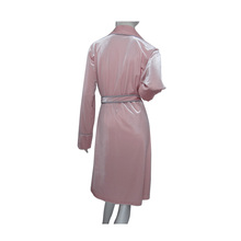 Wholesale new design customized velour fabric long sleeve short robe women sexy nighty