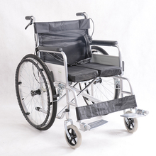 High Quality lightweight steel manufacturer elderly wheelchair