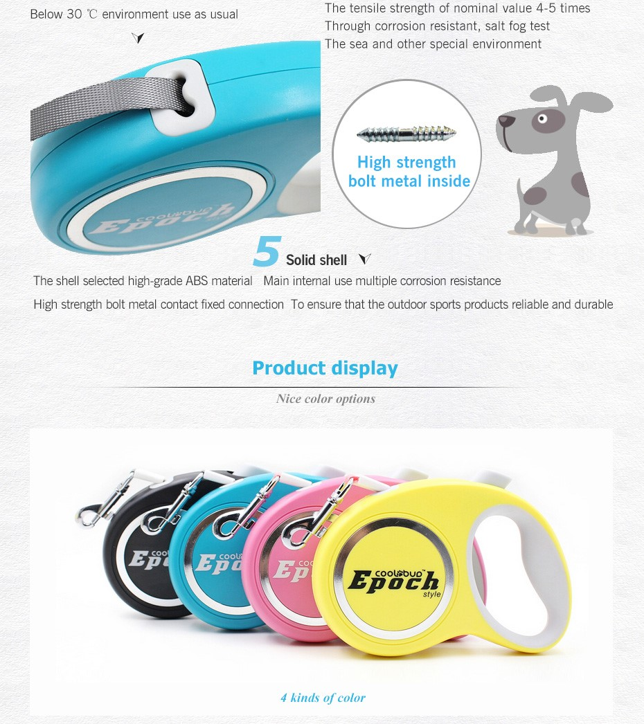 High Class Wholesale Dog Retractable Leash,Nylon Dog Leash
