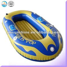 two person pvc inflatable plastic boat with paddle