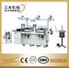 (SBM-240) 2-station automatic die-cutting & hot foil stamping machine, printed label roll hot stamping machine, sticker cutter