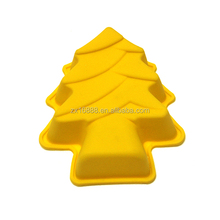 NEW Product Christmas tree shaped silicone molds silicone colorful cupcake mold