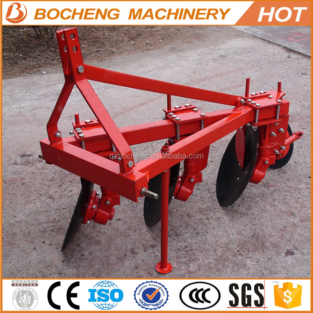 Farm tractor plough price 3 disc plough for sale