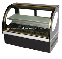 counter top display cake showcase OEM factory China