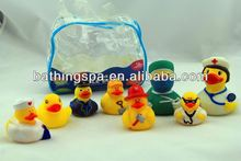 weighted floating rubber ducks
