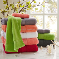 towel towel fabric bath towel sets combed 100% cotton 21s/2 terry yarn 70*140 cm 580 grams/piece gaoyang towels school top