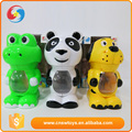 Hot sale Animal shap plastic automatical soap bubble machine toys