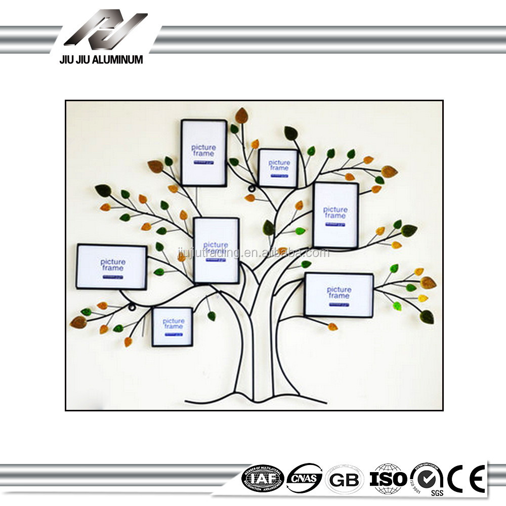 Love Family tree metal collage a4 photo frame