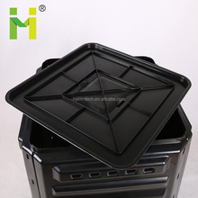 220L garden use natural fertilizer plastic collapsible compost bins