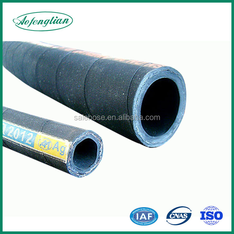 Rubber hose durable hydraulic rubber hose protector