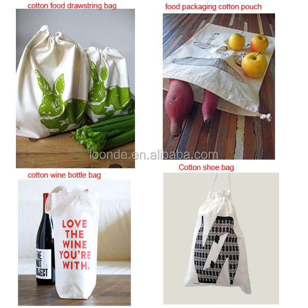 Simple Ecology washable and reusable Cotton Mesh Produce Bag for vegetable and fruit