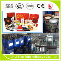 water-bases dry type film laminating glue for paper/cardboard box/poster