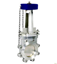 Knife Chain Wheel Gate Valve