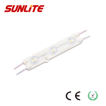 High Brightness High Power 3 Leds Samsung 5630 Led Module 12V