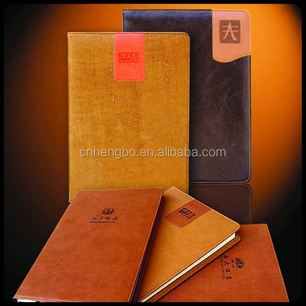 Best selling OEM design leather travel journal with many colors