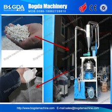 Waste plastic recycle material pulverizer miller machine for PVC PP PE ABS PET